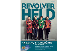 STARS AT THE BEACH - Revolverheld - Heligenhafen