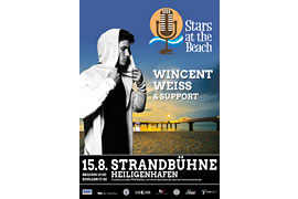 STARS AT THE BEACH - Wincent Weiss - Heligenhafen