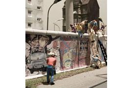Berliner Mauer 1989 © Miniatur Wunderland