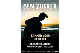 Ben Zucker Plakat Lübeck 2019