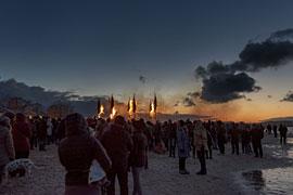Fackelfest am Niendorfer Freistrand © TSNT Vollbrecht