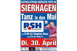 Plakat Tanz in den Mai 2019 - Sierhagen © Stephan Nanz