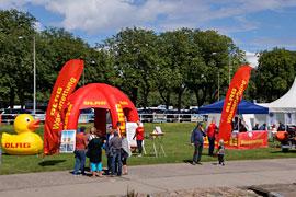 Kiwanis Spendenfest - Voll im Wind - DLRG