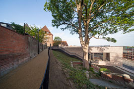 Burghügel © Europäisches Hansemuseum, Foto: Thomas Radbruch