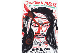 Jonathan Meese in Lübeck © Photography Jan Bauer.Net / Courtesy Jonathan Meese.Com