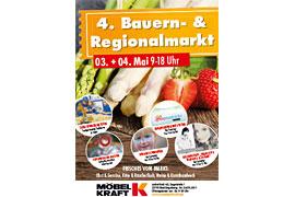 4. Bauern- & Regionalmarkt bei Möbel Kraft in Bad Segeberg