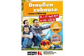 Plakat Caravan- & Outdoortage 2019 © MÖBEL KRAFT Bad Segeberg