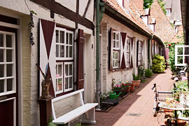 Von-Höveln-Gang, Wahmstraße 73-77 in Lübeck