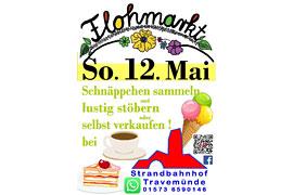 Flohmarkt Mai 2019 am Strandbahnhof Travemünde