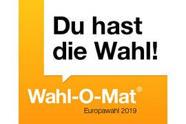 Banner zum Wahl-O-Mat zur Europawahl 2019