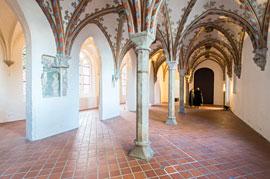 Europäisches Hansemuseum Burgkloster Kapitelsaal © Olaf Malzahn