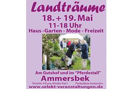 """Plakat """"Landträume"""" Ammersbek"""