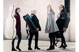 Quartett Levár © Jasper Noack