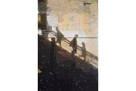 Schatten auf Rolltreppe © Heiko Hamann