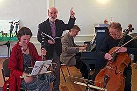 Stefanie Hiller-Silberbach, Ulrich Jehmlich, Olaf Silberbach und Philip Aleksandrowicz