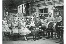 Ankerwicklerei © Industriemuseum Geschichtswerkstatt Herrenwyk