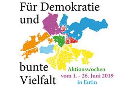 Für Demokratie und bunte Vielfalt - 2019