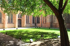 Burgkloster Klostergarten © Europäisches Hansemuseum
