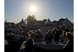 Weinfest im Niendorfer Hafen © TSNT