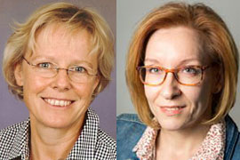 Susanne Gämlich und Christiane Hachmeier