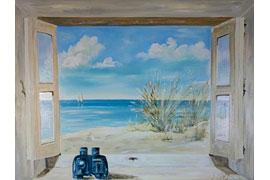 Fenster zum Meer © ChrisTine Löwa