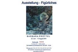 Plakat Barbara Pröttel - Figürliches - SOFA Kulturcafé