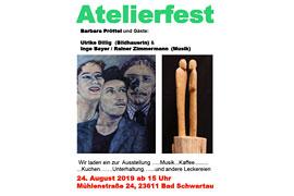 Atelierfest der Malerin Barbara Pröttel