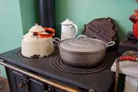 Küchenherd – Industriemuseum Geschichtswerkstatt Herrenwyk