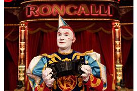 Weißclown Gensi © Circus Roncalli