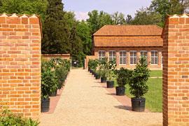 Küchengarten © Stiftung Schloss Eutin