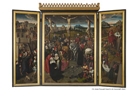 Memling-Altar - Festtagsansicht © St. Annen-Museum Lübeck