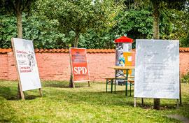 Summer of 69 – Gartenausstellung des Willy-Brandt-Hauses Lübeck © Olaf Malzahn/BWBS