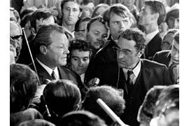 Interview Willy Brandt © Bundesregierung Jens Gathmann