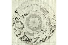 alte Landkarte der Arktis © Eutiner Landesbibliothek