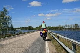Mit dem Fahrrad zum Nordkap © Angelika Wilke