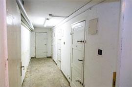 Zellen in der ehemaligen Gestapozentrale in Lübeck © Kevin Hackert