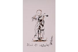 Letztes Geigenspiel © Michaela Berning -Tournier