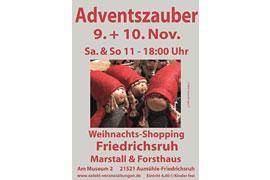 "Plakat ""Adventszauber"" Friedrichsruh"
