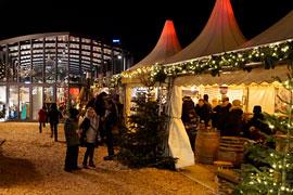"""Weihnachtsmarkt """"Schiff Ahoi"""" in Travemünde © TraveMedia"""