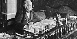 EHM-Theodor Fontane am Schreibtisch © Wikipedia-Commons-Zander und Labisch-gemeinfrei
