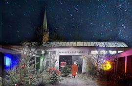 Kunsttankstelle Advent © Kunsttankstelle Defacto Art e. V.