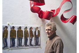 Atelierfoto Volker Tiemann © Helmut Kunde