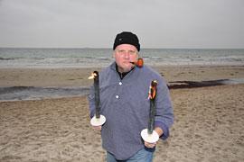 'Claas' vom Wandertheater am Strand © www.luebecker-bucht-ostsee.de