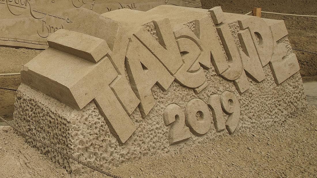 Sand Skulturen Travemünde 2019 © TraveMedia