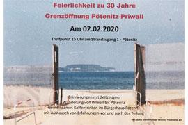 30 Jahre Grenzöffnung Pötenitz-Priwall