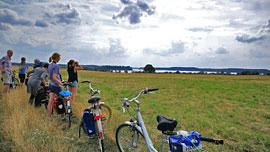 Fahrradtour am Dassower See © Sylvia Behrens