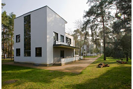 Die Meisterhäuser in Dessau, ein Beispiel des Neuen Bauens © Roland Rossner/Deutsche Stiftung Denkmalschutz