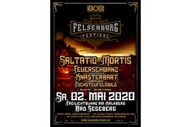 Plakat Felsenburg Festival 2020