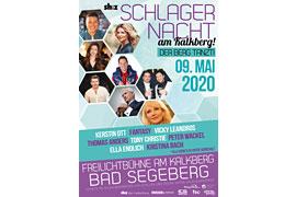 Plakat Schlagernacht 2020 – Bad Segeberg