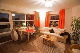 Gundlach FeWo Travemünde Wohnzimmer